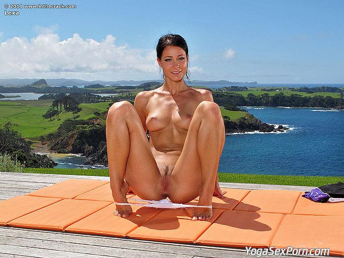 Hot nude yoga women